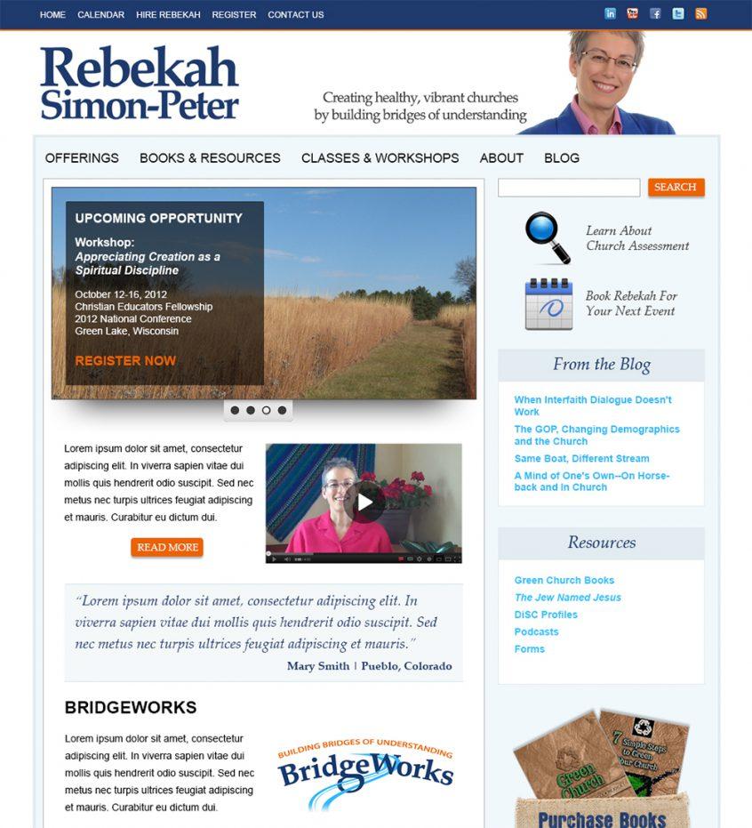 Rebekah Simon Peter
